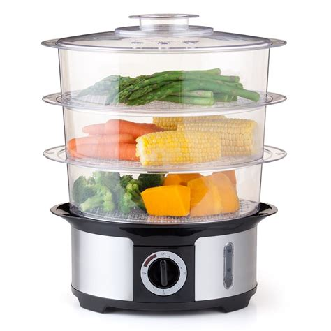 steamer cuisine 3 tier food steamer kmart