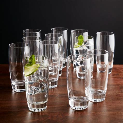 Otis Highball Glasses, Set of 12   Reviews   Crate and Barrel