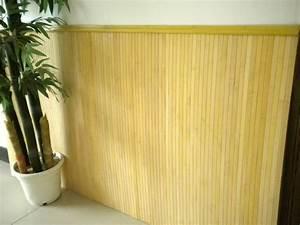 Revêtement Mural Intérieur : revetement mural bambou naturel ~ Melissatoandfro.com Idées de Décoration