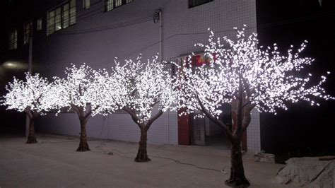 . Meter Outdoor Party &festival Decoration White Blossom