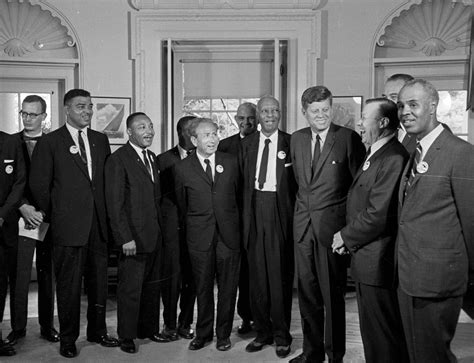 thurgood marshall jfk   civil rights movement