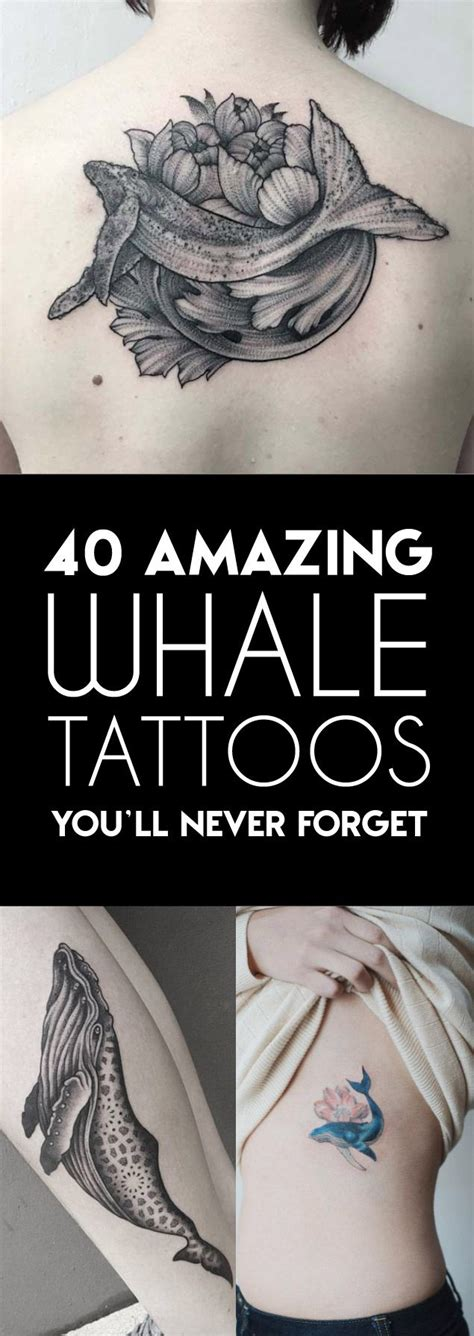 Amazing Whale Tattoos You Never Forget