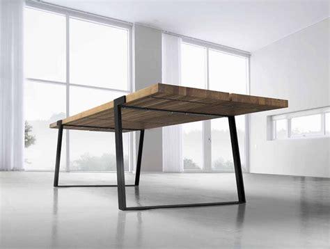 Tische Esstische by Essen Kommen Design Esstisch Gigant Wildeiche Stahl