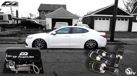 install air suspension    acura tlx youtube