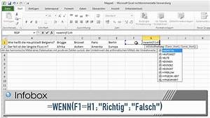 Excel 2010  Mit Excel Ein Multiple Choice