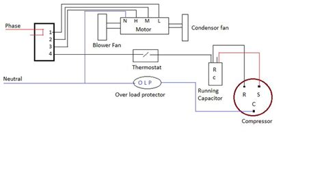 Wiring Diagram Window Airconditioner Psc