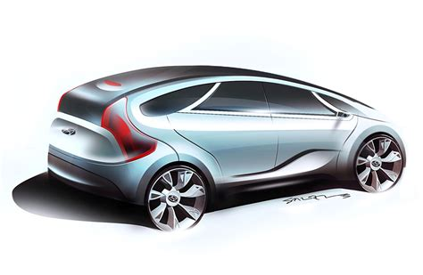 Hyundai Hed 5 I Mode Concept Makes North American Debut