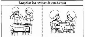 Imagenes • Dibujo del respeto para colorear | valores ...