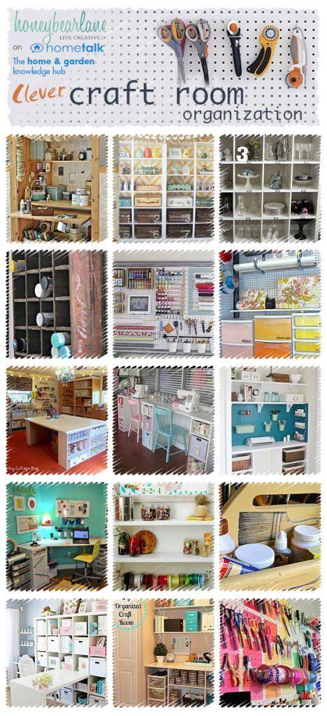 ideas  craft room organization honeybear lane