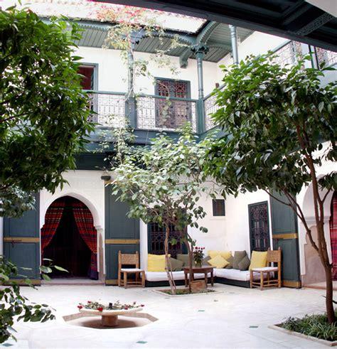 le patio du riad jmya de marrakech
