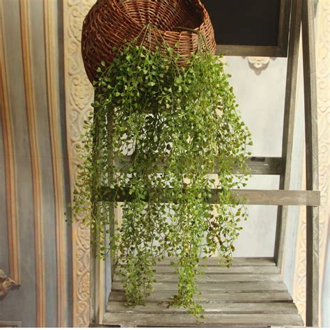 A wide variety of hanging artificial leaves wall decoration options are available to you, such as material, use, and metal type. 74cm Green Artificial Plants Wall Hanging Vine Plastic ...