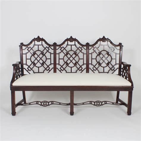chippendale settee antique chippendale style settee for sale