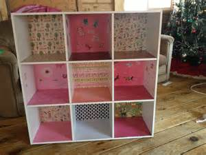 18 inch doll kitchen furniture diy dollhouse menards 9 cubby bookshelf assembly