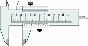 It U0026 39 S A Slide Calipers Or Vernier Calipers Vector Sketch