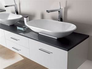 Meuble vasque a poser for Meuble pour vasque à poser