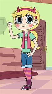 Star Butterfly Wears Some Outfits Of A Tomboy By Deaf