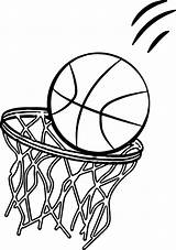 Basketball Coloring Pages Court Goal Sports Ball Going Playing Boys Printable Sheets Netball Clipart Lebron James Drawings Sport Getcolorings Fun sketch template