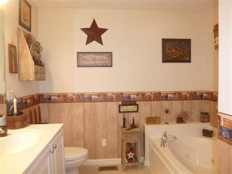 Primitive Decorated Bathroom Pictures by Primitive Bathroom Prim Bathrooms