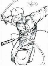 Daredevil Coloring Pages Fan Printable Without Fear Results Stunts Getcolorings Popular Kidsuki sketch template