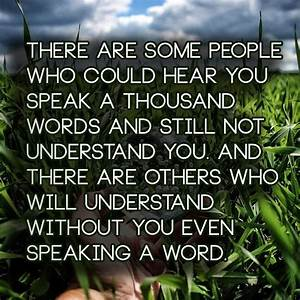 People Who Understand You Quotes. QuotesGram