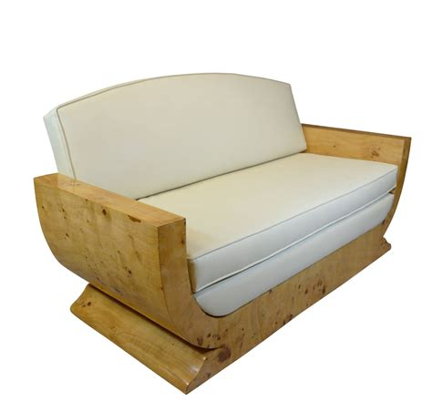 deco canape canapé déco en loupe d 39 orme meubles déco