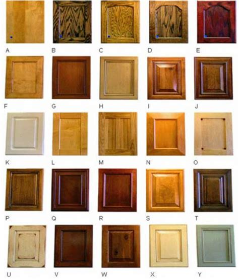 cabinet wood types and costs kitchen cabinet wood types