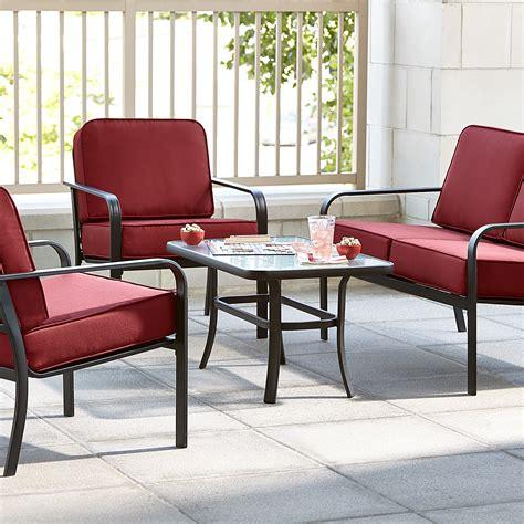 Essential Garden Patio Furniture essential garden bisbee 4 seating set limited
