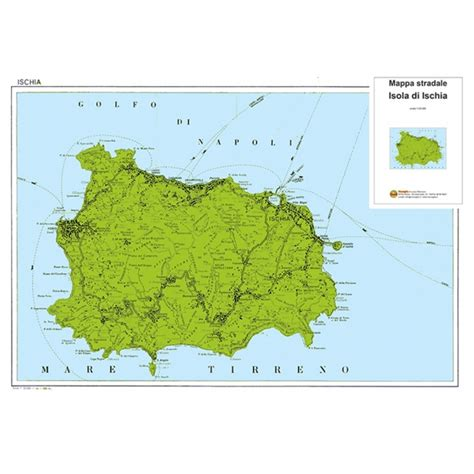 Insel Ischia Karte