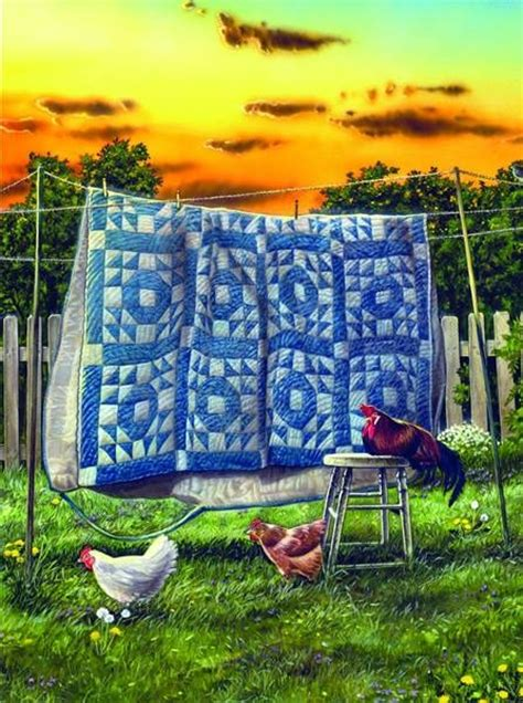 painting  quilt  farm pictures   images
