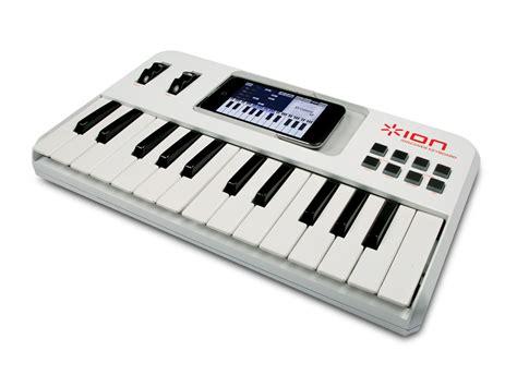 iphone keyboard ion announces iphone midi keyboard musicradar