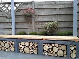 Holz Für Draußen : 20 ideen f r brennholz lagern zum nachmachen innendesign zenideen ~ Eleganceandgraceweddings.com Haus und Dekorationen