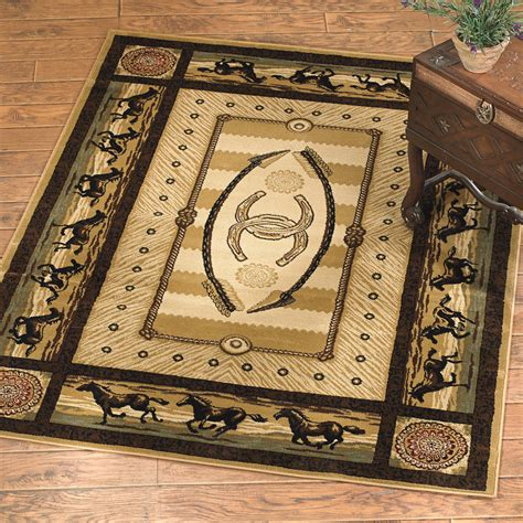 western area rugs southwest rugs 8 x 10 gallop rug lone western