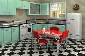 Küche Retro Stil : american retro style wohnen wie elvis im 50er jahre stil amerikanisch wohnen ~ Watch28wear.com Haus und Dekorationen