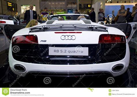 siege auto allemagne quattro neuf d 39 audi r8 spyder voiture de sport image