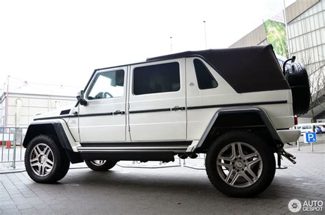 With origins in the first ever car produced by karl benz, mercedes' history is nothing short of amazing. Mercedes-Maybach G 650 Landaulet W463 - 25 March 2018 - Autogespot
