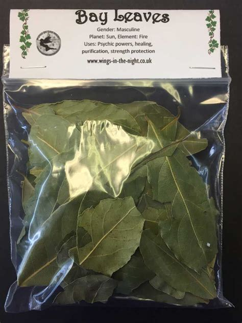bay leaves dried magical herb pagan wicca uk shop