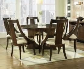 7 dining room sets manhattan 7 56 inch dining room set in walnut medium wood dining decorate