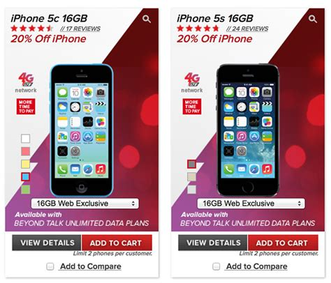 iphone 5c prepaid mobile offering 20 discount on iphone 5s and iphone 5c