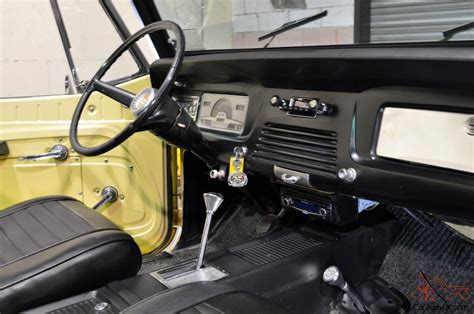 jeep jeepster interior 1969 jeep jeepster commando convertible restored excellent