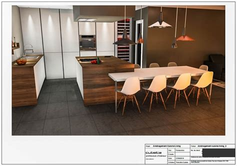 amenagement cuisine amenagement cuisine living 2 feuille 5 copier