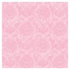 Shop allen + roth Pink Princess Damask Wallpaper at Lowes.com