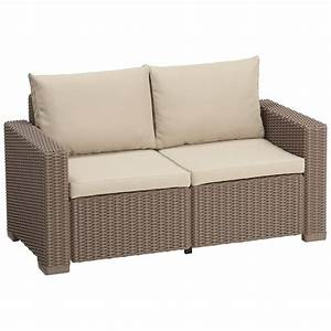 Polyrattan Sofa 2 Sitzer : rattan 2 sitzer sofa great polyrattan sofa sitzer rattan polyrattan gartenmobel sitzer sofa ~ Bigdaddyawards.com Haus und Dekorationen