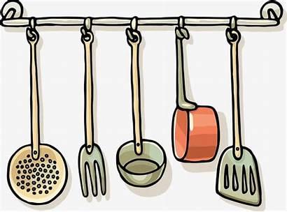 Clipart Kitchen Utensils Cooking Utensil Tools Line