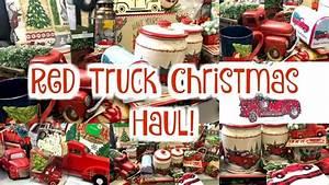 Red, Truck, Christmas, Decor, Haul, Dollar, General, Walmart, Dollar, Tree, U0026