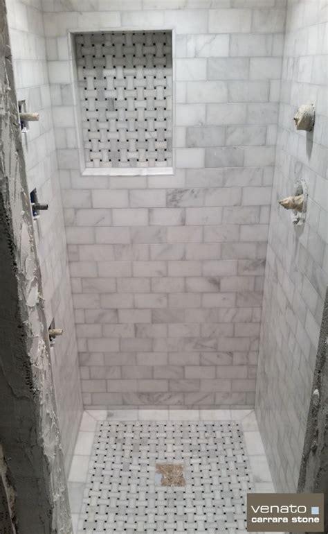 room scenes page  basketweave tile bathroom shower