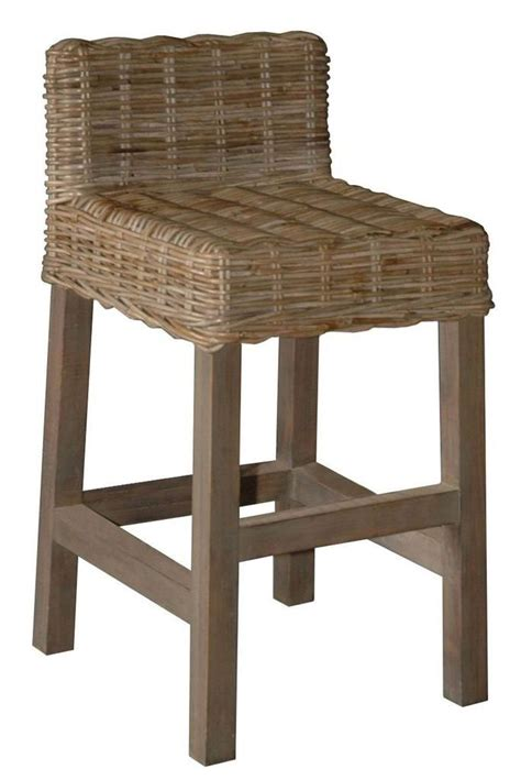rattan bar stools with backs woven bar chairs with backs wicker counter stool with 7628