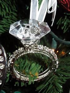 diamond ring ornament christmas 2013 pinterest With wedding ring christmas ornament