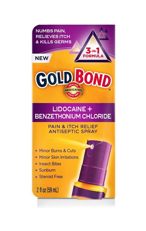 Amazon.com: Gold Bond Pain & Itch Formula W/4% Lidocaine 1