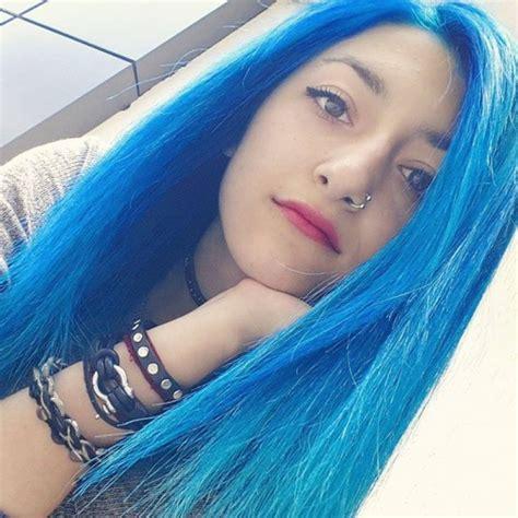 midnight blue hair colors ideas