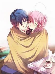 anime hug on Tumblr